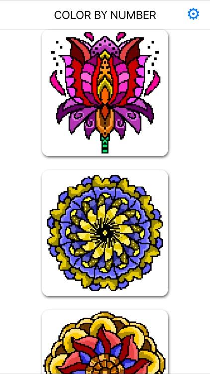 Color By Number :  Pixel Art screenshot-8