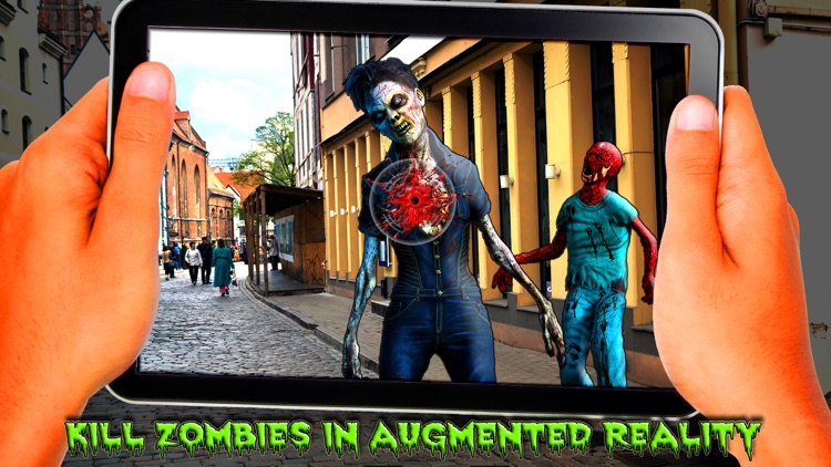 AR Zombie Shooter
