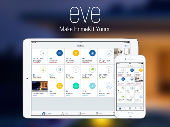 Elgato Eve iPad