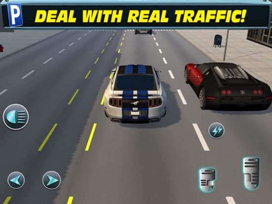 Fast Car Racing: Highway Sim screenshot 4