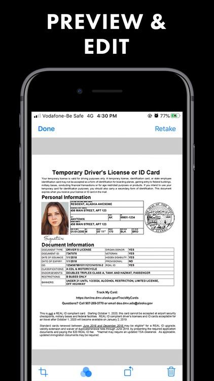 Fax app send fax on iPhone screenshot-4