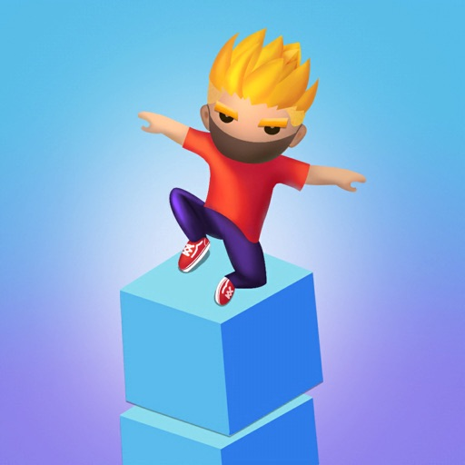 Cube run 3d: stack cube surfer