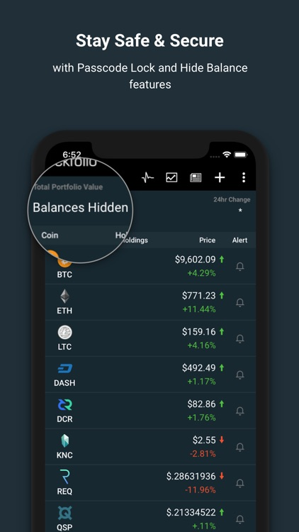 Blockfolio Bitcoin Altcoin App screenshot-5
