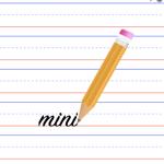 Kids Writing Pad Mini