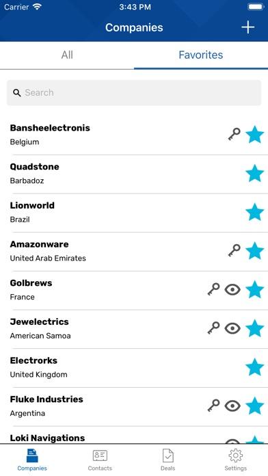 Screenshot of Smart Global App