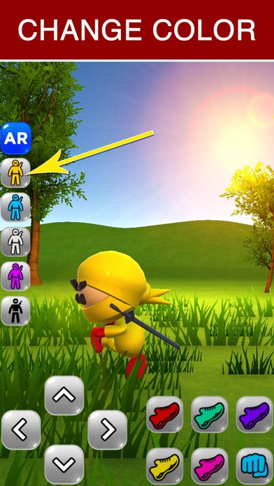 Ninja Kid AR: Augmented Action Screenshot 5