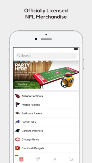 Fanatics NFL Shop on the App Store d9d033f2d