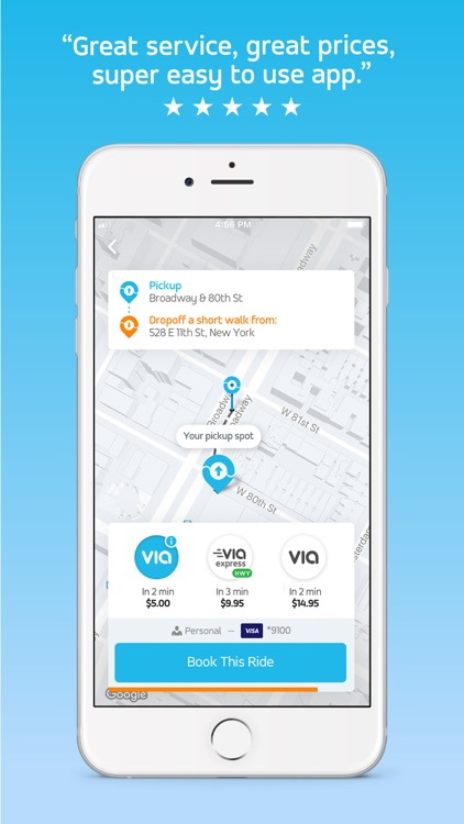Via - Affordable Ride-sharing