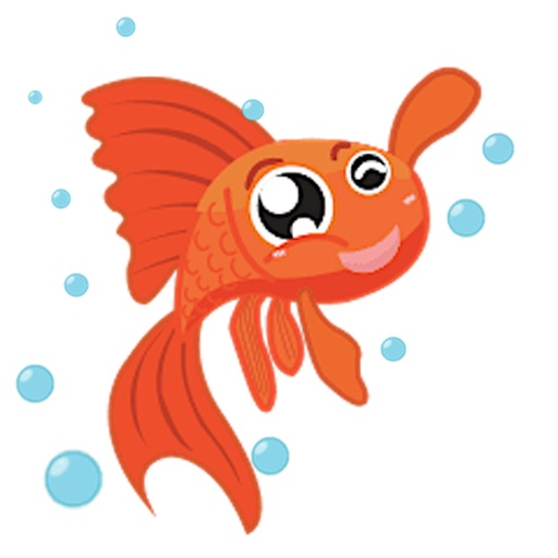 Lucky Goldfish Sticker