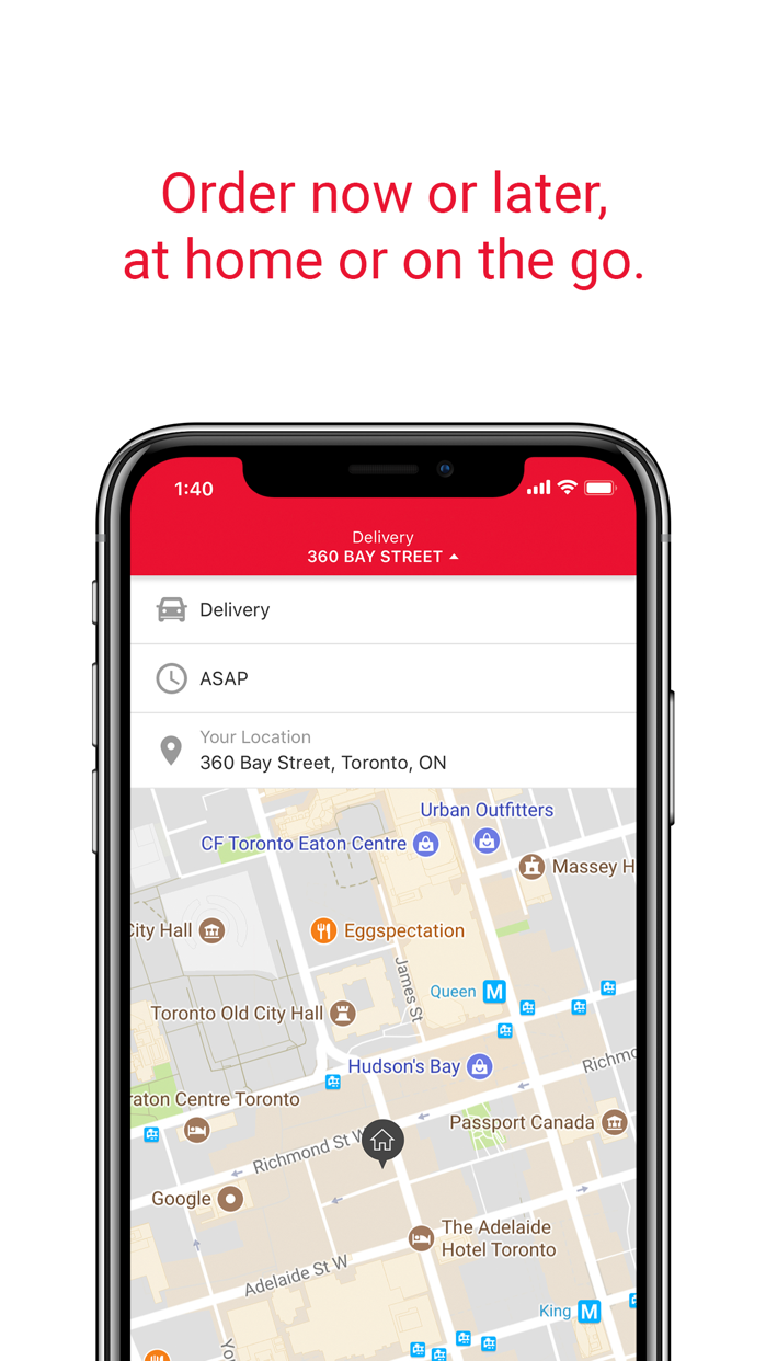 SkipTheDishes - Food Delivery Screenshot