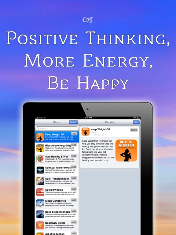 Positive Thinking Meditation | App Price Drops