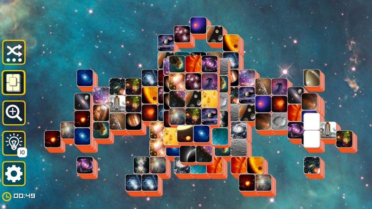 Mahjong Galaxy Space & Towers screenshot-9