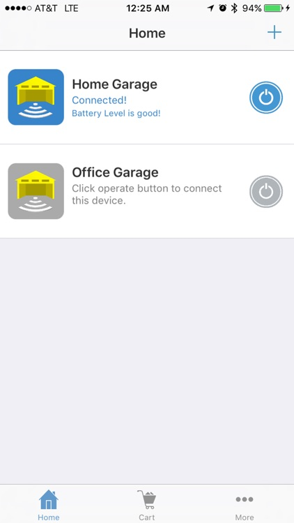 Garage Door Remote Controller