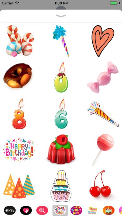 Happy Birthday Cards Emoji App