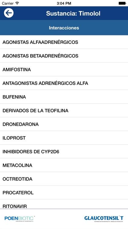 Interacciones Oftalmología screenshot-3