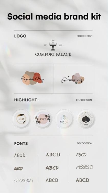FocoDesign-Make Graphic Design screenshot-5