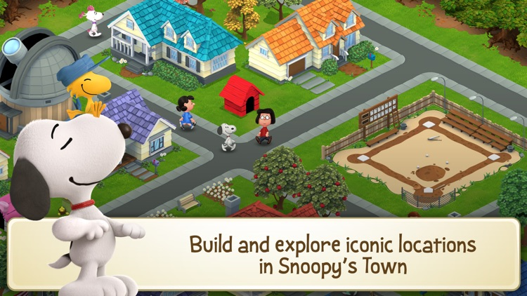 Peanuts: Snoopy's Town Tale screenshot-0