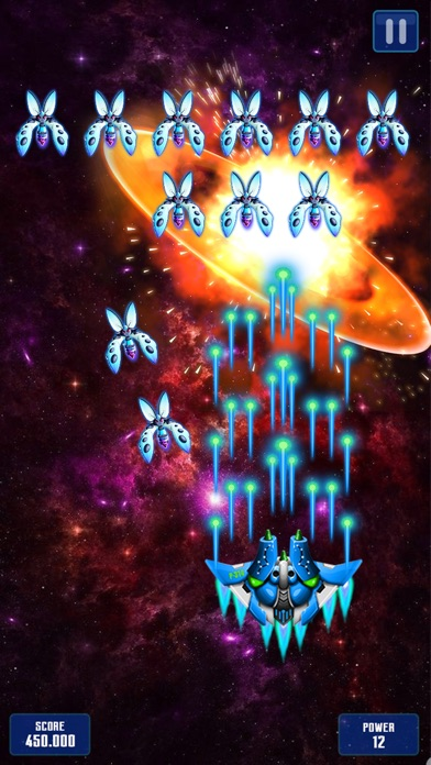 宇宙戦争: レトロ エイリアンシューター ゲーム screenshot1
