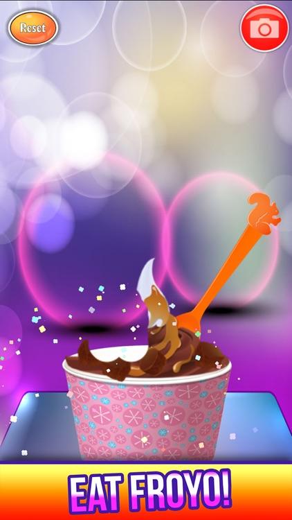 Frozen Yogurt Maker Salon screenshot-4