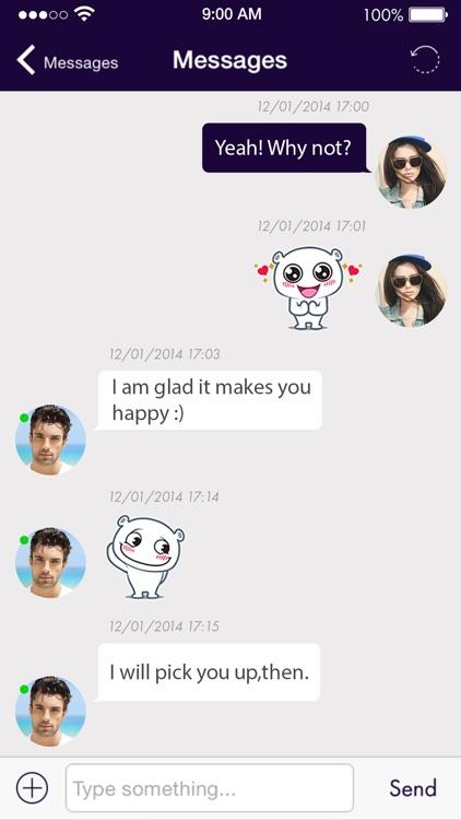 Date Way -Chat, Flirt & Dating screenshot-3