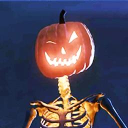 Horror Halloween-Scary Pumpkin