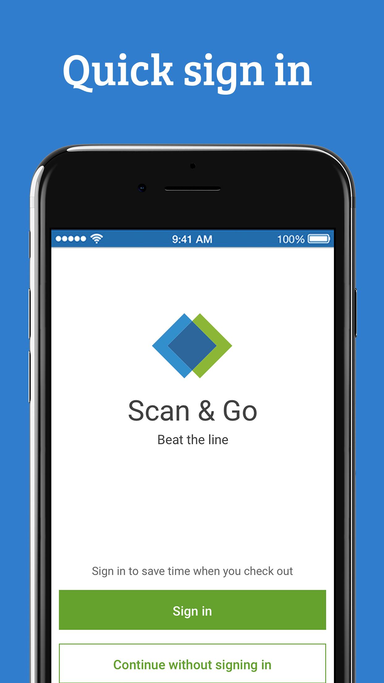 Sam's Club Scan & Go Screenshot