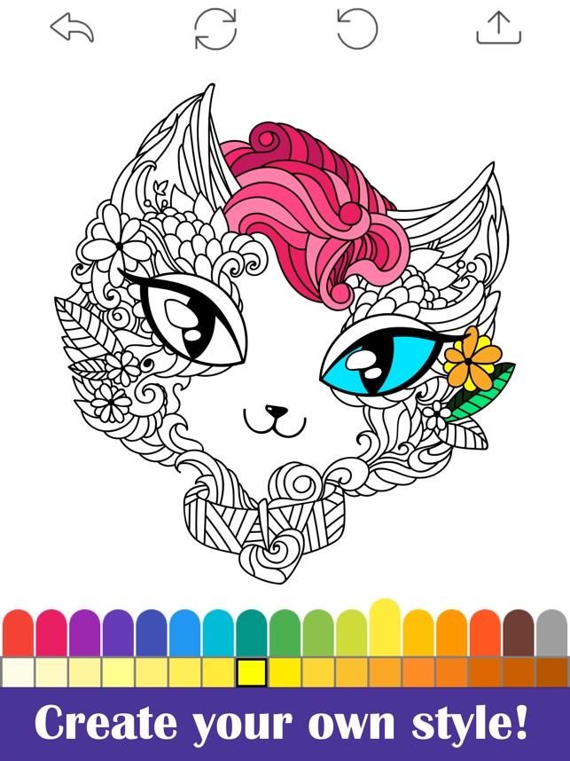 Malen Für Erwachsene - Malbuch im App Store