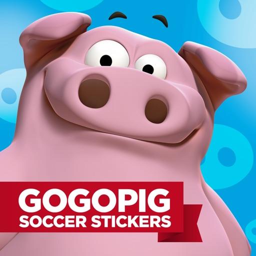 GoGoPig Soccer Stickers pack