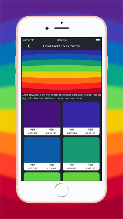 Live Color Picker & Extractor