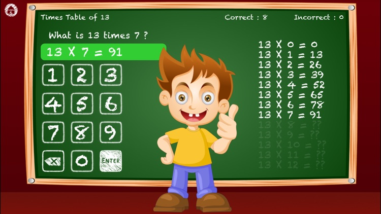 Times Tables For Kids - Test screenshot-3