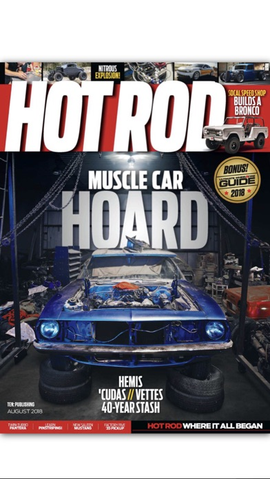Hot Rod Magazine Screenshot