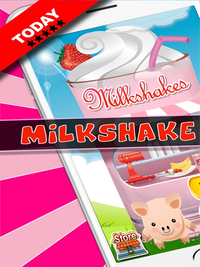 milkshake dessert maker truck on the app store