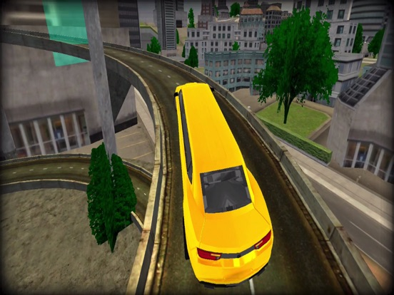 Limo Driving Stunt Car Driver-ipad-3