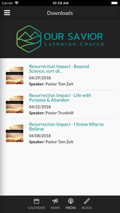 Our Savior Lutheran Fremont screenshot-4