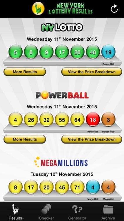 NY Lotto Results