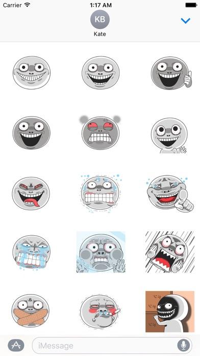 Animated Creepy Emoji Sticker Screenshot