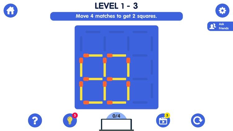 Matchstick Puzzle Classic