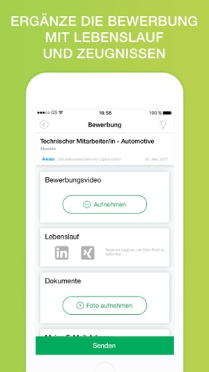JobTube im App Store