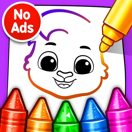 Drawing Games: Draw & Color