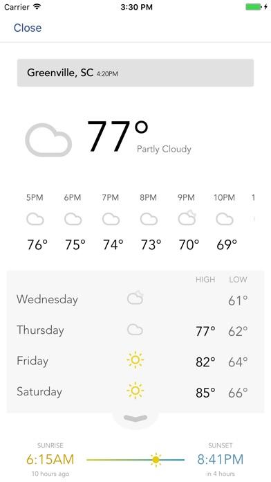 FOX Carolina Weather for Windows