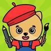 子供向けお絵かき・色塗りアプリ - iPadアプリ