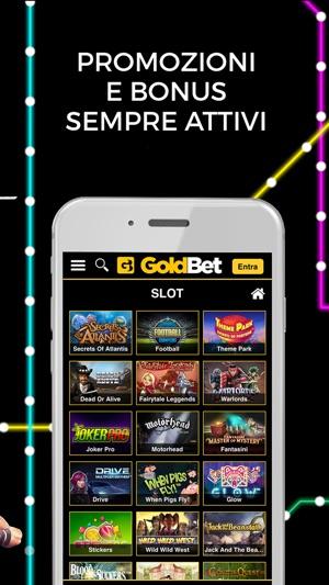 Goldbet slot machine