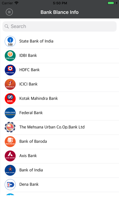 Bank Balance - Missed Called screenshot one