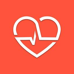 Ícone do app Cardiogram: Heart Rate Monitor