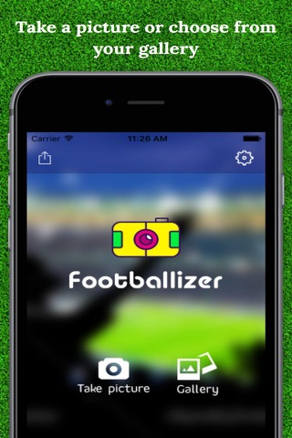 Footballizer - náhled