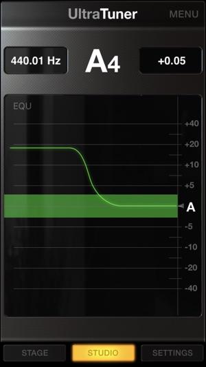 UltraTuner - Precision Tuning Screenshot