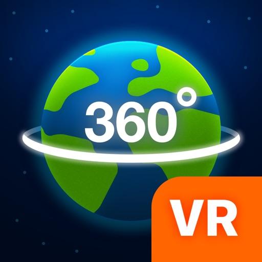 Географический Глобус 3D VR