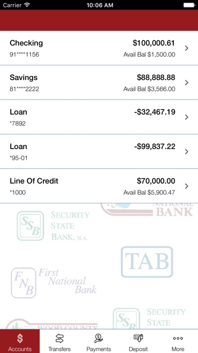 FNB, TAB, SSB, and WCNB Mobile - by FIRST NATIONAL BANK OF GILMER