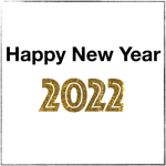 New Year 2022 stickers