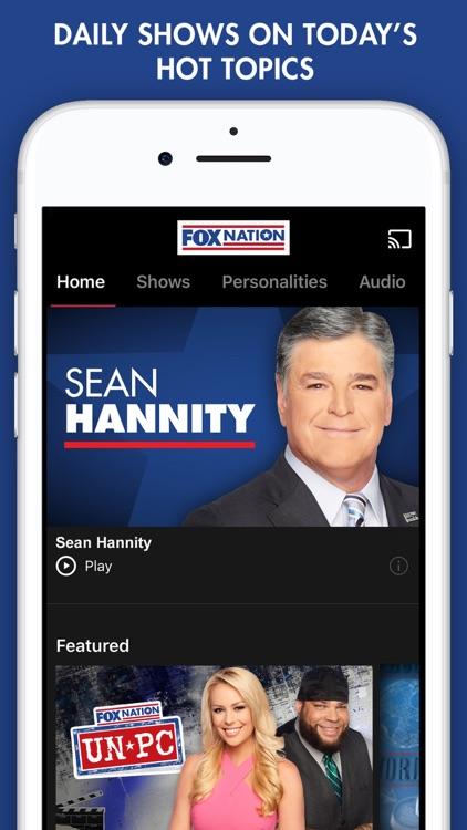 Fox Nation: Opinion Done Right screenshot-0